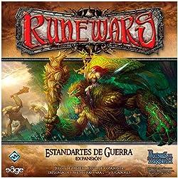 Reinos de Terrinoth - Estandartes de Guerra, juego de mesa (Edge Entertainment RW02)