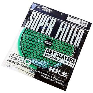HKS 70001-ak022Dry 3Schichten Super Filter Element Ersatz 200mm