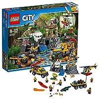 Trova l'aereo perduto nella giungla di LEGO® City Esplora il misterioso relitto e quindi prepara l'accampamento prima di salire sul kayak per recarti al tempio a valle. Tieni gli occhi aperti: ci sono tanti animali e trappole in agguato nella giungla...