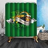 Telecharger Livres Nymb Vert Saint Patrick s Jour 175 3 x 177 8 cm resistant aux moisissures Rideau de douche en tissu en polyester de Fantastique Decorations de bain Rideau (PDF,EPUB,MOBI) gratuits en Francaise