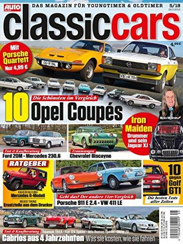Männer Magazin Gesundheit (Auto Zeitung Classic Cars)