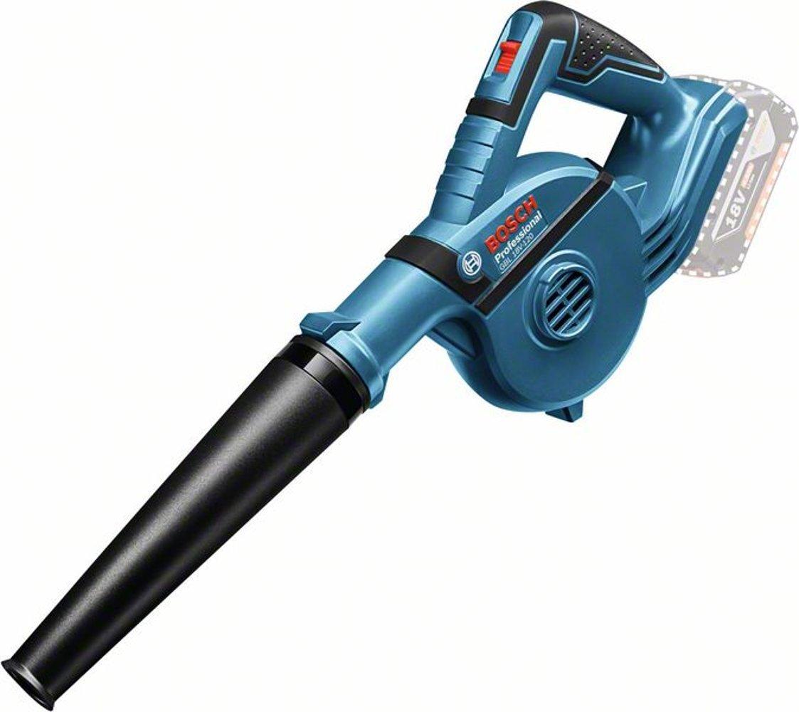 Bosch Laubbläser Gebläse GBL 18V-120 (06019F5100), bis zu 270 Km/h