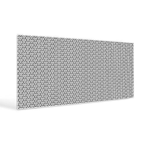 banjado-design-magnet-board-bulletin-board-78x37xm-pinboard-noticeboard-motive-ypsilon-muster