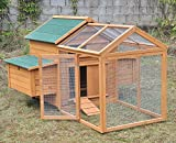 Freilaufanbau für Hühnerstall