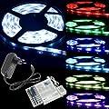 RGB 5050 SMD LED STRIP Band Leiste 5M 5 METER - Wasserdicht + 44 Key Fernbedienung + Netzteil LD134 von XCSOURCE auf Lampenhans.de