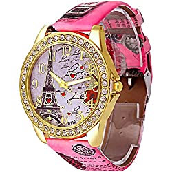 Kitcone Analog Multi colour Dial Womnen's Watch - TypeJewlery77