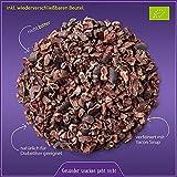✅ Premium Bio Schoko Kakaonibs / Kakaobohnen Splitter / Raw Cacao Nibs / Kakao Stücke mit Yacon gesüßt 500g, für unvergessliche Schokoladen Momente, ohne Zucker, Edel Rohkakao Sorte Criollo aus Peru, Rohkost-Qualität, für Diabetiker geeignet, FAIRTRADE, vegan, unbehandelt, glutenfrei, laktosefrei, ungeröstet, ideal als Topping für Müsli, zum Backen, Abnehmen (Low Carb) oder für Fitness, extrem gesund