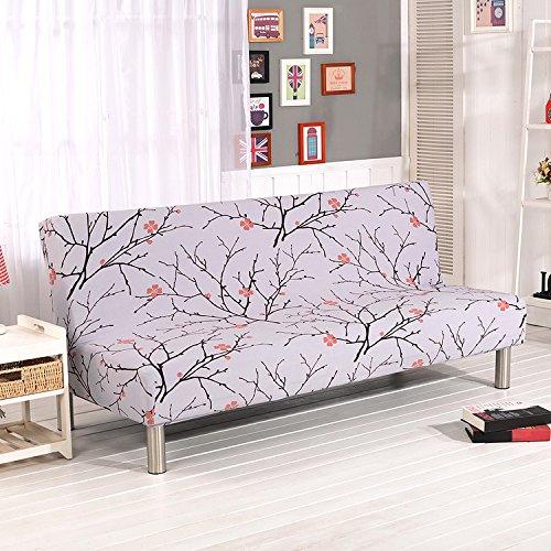 Funda sofá sin brazos sofá cama stretch slip protector
