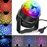 SOLMORE Discokugel Led Disco Beleuchtung Lichteffekte Partylicht LED...