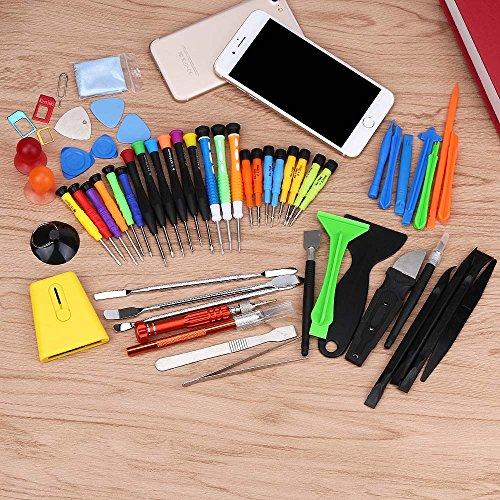 Preisvergleich Produktbild Tonsee 60 IN1 Handy Reparatur Öffnung Tools Kit Set Hebeln Schraubendreher für iPhone 7