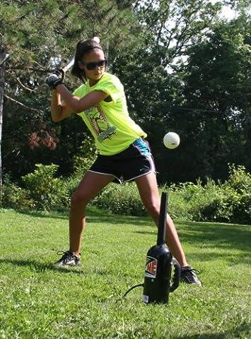 Hit Zone Baseball / Softball Air Powered Batting Tee - Model HZ-1B Hitting Tee - Training Aid by Metropolitan Vacuum Cleaner