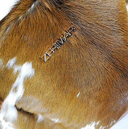 Zerimar Leder-Umhängetasche für Damen Große Umhängetasche aus weichem Leder für Frau Schultertasche mit großer Kapazität Weiche Leder tasche für damen aus leder praktisch echt leder Braun1