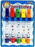 SET OF FIVE BATH FLUTES