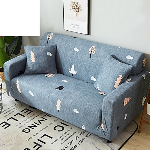 TT&CC Polyester-Spandex gewebe 1 stück Stretch slipcover für Sessel loveseat Sofa ohne Kissen-V Loveseats 145x185cm(57x73inch)