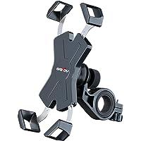 Grefay Support Téléphone de Vélo,Métal Support Smartphone de Moto Guidonavec 360° Rotation pour 4,5-7,0 Pouces…