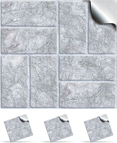 30-white-stone-self-adhesive-mosaic-wall-tile-decals-for-150mm-6-inch-square-tiles-tp18-realistic-lo