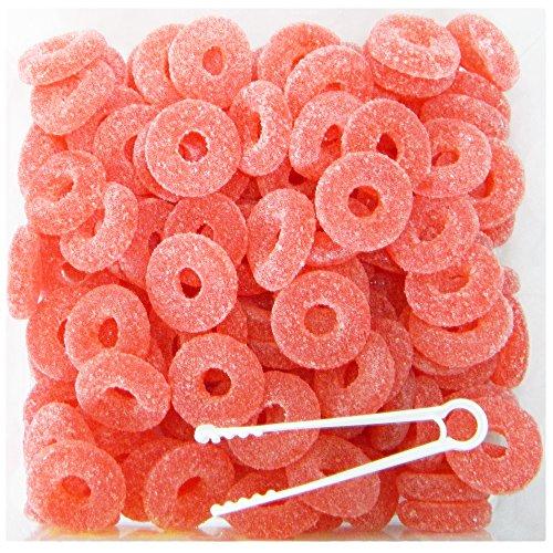 iere Wassermelonen-Ringe sauer- 120 Stück + 10% extra gratis ()