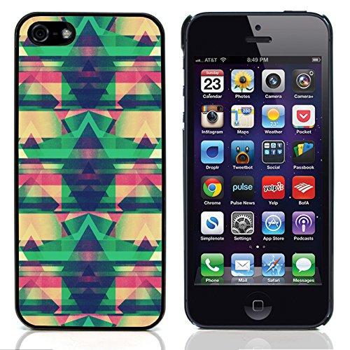 Graphic4You ORANGE CANVAS Muster Harte Hülle Case Tasche Schutzhülle für Apple iPhone 5 und 5S Design #18