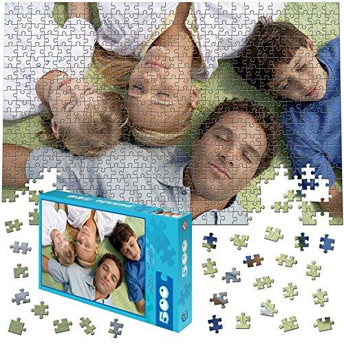 martinpuzzle Fotopuzzle 500 Teile, 46x30cm - Individuelles Puzzle mit Foto-Schachtel - Puzzle Foto