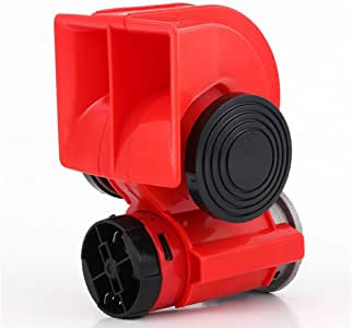 Super Fort Corne 200DB /électrique Corne de Taureau 12V Air klaxon sonore Super Fort pour Bateau Moto Camion