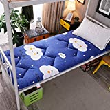 xiaojian& Student Schlafsaal Single Bettmatratze Pad Tatami Matratze, Smile Cloud, 1.0m*2.0m (3.3 ft) Bed