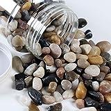 Dekokiesel natur, poliert 800 Gramm - Kiesel Kieselsteine