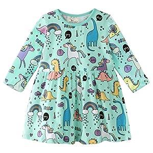 Bebé Niñas Vestidos,Vestido Casual de