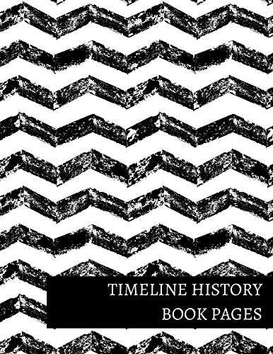 Timeline History Book Pages