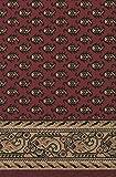 Teppich Läufer Schlinge Rumba Orient Rot Mir in 20 Größen