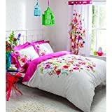 Catherine Lansfield Bright Floral Bedding Set - Double