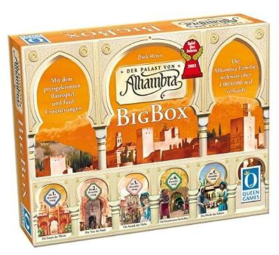 Queen Games 60377 - Alhambra Big Box, Spiel des Jahres 2003 (Anglais)