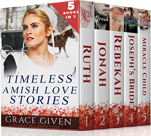 Amish Romance Boxset Timeless Amish Love Stories 5 Amish Romances In 1 Sweet Clean Christian Inspirational