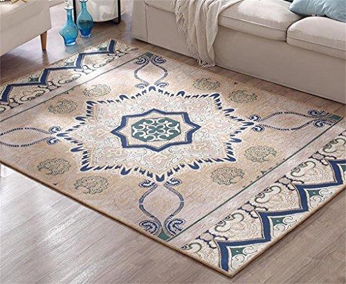 Flash Continental Simple Camera da Letto Moderna Shop per Comodino Coperta tappeti per Divano da Salotto, 180x 120cm Beige