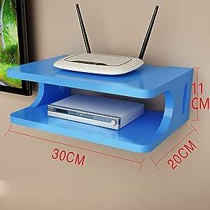 ZYFBG Mensole da Muro Router Protezione Ambientale Legno
