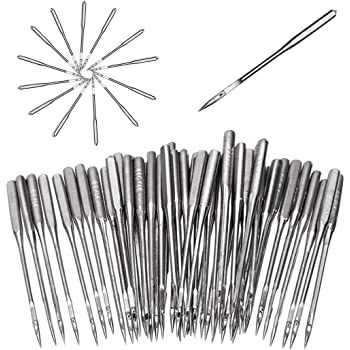 3 Size 60mm 70mm Large Eye Sewing Needles Stainless Steel Stitching Needles with Clear Bottle Alcoon 15 Pieces Large-eye Blunt Needles 52mm