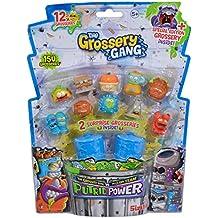 Grossery Gang Set 12 Unidades con 2 Cubos de Basura (Simba 9291022)