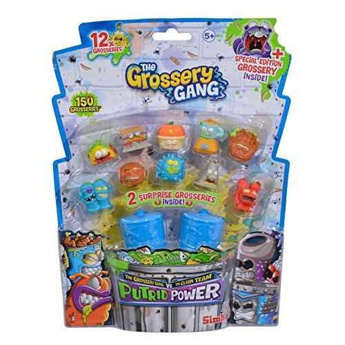 Simba 109291022 Grossery Gang Putrid Power Sammelfiguren, 12er Pack