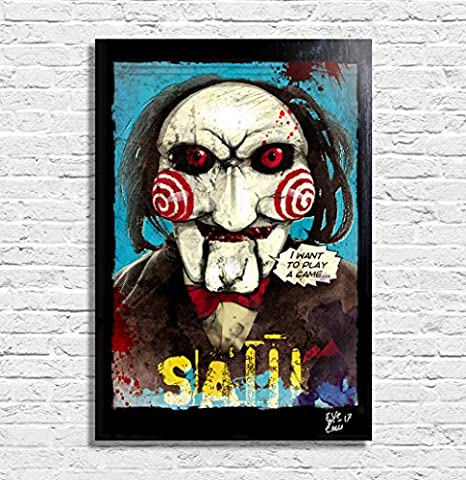 Saw Billy Costume - Billy le pantin marionnette de SAW (Jigsaw)
