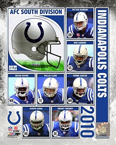 Composite-indianapolis Colts (2010 Indianapolis Colts Team Composite Photo Print (50,80 x 60,96 cm))