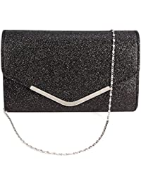 5157e2c3b2 Ladies Envelope Clutch Bag Evening Bag Bridal Wedding Bag Handbag Prom Bag