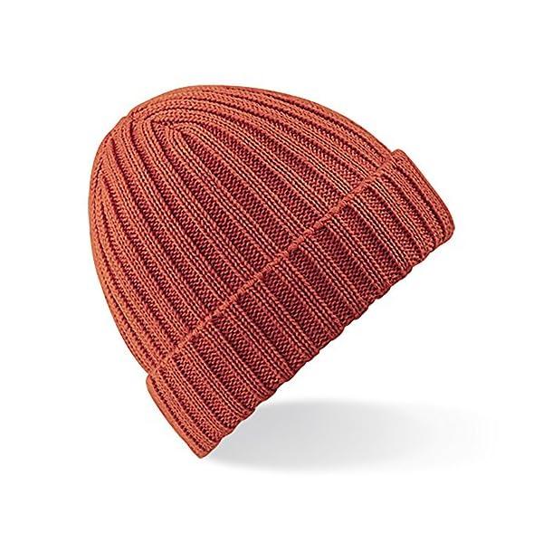 Beechfield Unisex Winter Chunky Ribbed Beanie Hat