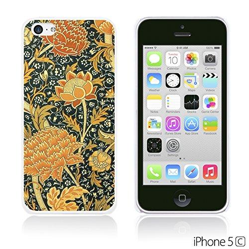 OBiDi - Flower Pattern Hardback Case / Housse pour Apple iPhone 5C - Watercolor Flower Print Floral Art