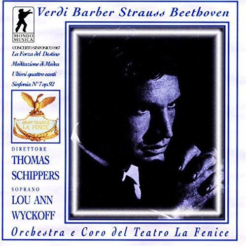 Beethoven: Sinfonie Nr. 7 / Strauss: Vier letzte Lieder / Verdi: Ouvertüre Die Macht des Schicksal