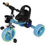 دراجة اطفال بثلاث عجلات ، مقعد واحد ، متعدد الالوان