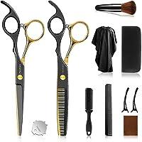 Friseurscheren Haarschere Set Premium Schere Haare Schneiden Scharfe Licht Einseitiger Effilierer