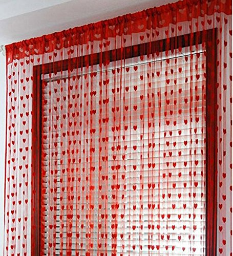 check MRP of heart string curtains India Furnish