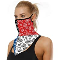 Unisex Bandana Reusable Face Mask Scarf Face Rave Balaclava Neck Gaiters Dust Cloth Washable Wind Motorcycle Mask for Dust Cover UV Protection - Women and Men