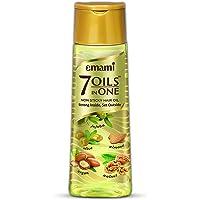 Emami 7 Oils in One Non Sticky Hair Oil Strong Inside, Set Outside 200ml