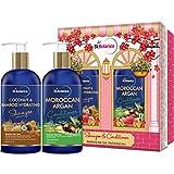 #8: StBotanica Coconut Oil & Bamboo Hair Strengthening Shampoo + Moroccan Argan Hair Conditioner, 300ml