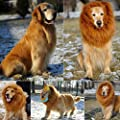 Lion Mane Wig Hair Pet Costume for Dog Cat Halloween Clothes Party Festival Fancy Dress Up by D&&R
